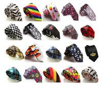 2014 Sale Direct Selling Print Adult Fashion Gravata Corbatas free Shipping Tie Men And Women Leisure Narrow Printing 20 Styles