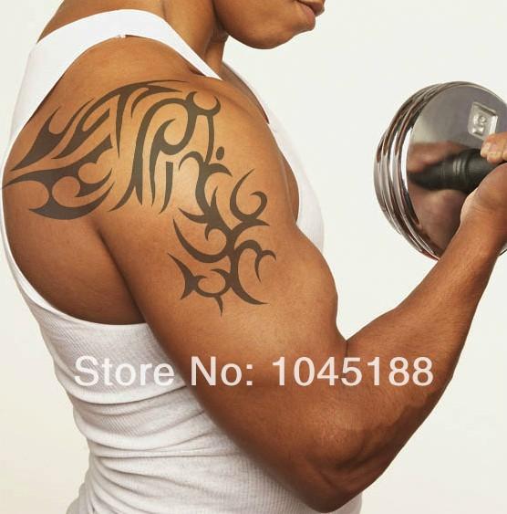 Фото модные татуировки на плече