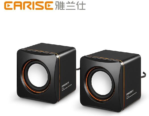 Al-202 audio mini multimedia laptop portable desktop usb2.0 computer small speaker(China (Mainland))