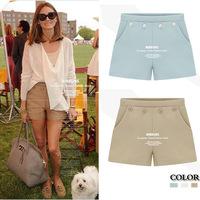 New 2014 Women Shorts Women Fashion Four Button Shorts Women Hot Pants Plus Size S-XXL 3 Color WHP003