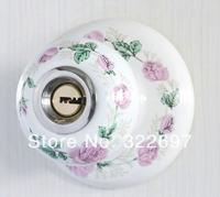 free shipping MZJ03SS-T Golden tulip full ceramic door lock Rural style ceramic door lock the bedroom door lock in the kitchen