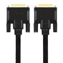 100% UNITEK Y-C209 3 м кабель DVI DVI ( 24 + 1 ) штекер к DVI ( 24 + 1 ) штекер между мужчинами AV кабель для компьютеров