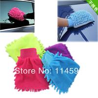 Car Wash Glove,Microfiber Chenille car cleaning cloth,chenille car cleaning glove