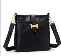 Genuine leather women's leather bag 2014 small bag trend cross-body shoulder bag messenger bag