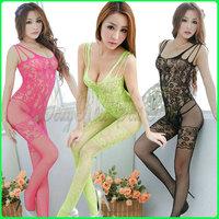 D0302 Body suit,Interest even in vitro,Bodystocking,sex lingerie,Halter Fishnet Body stocking