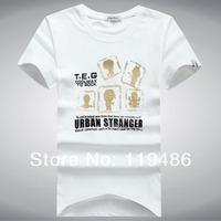 Мужская футболка 2014 new fashion t 3Color /015