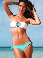 Free Shipping beautiful high quality fashion sexy with cup swimwear swimsuit Shoulder strap Bikini