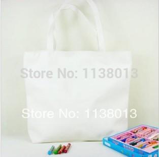 Factory Direct Wholesale 2014 Brand Fashion Plain Canvas Tote Bags Women Foldable Handbag Zipper No Printing Canva Shopping Bag(China (Mainland))