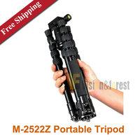 sinno M-2522Z Portable Tripod Single micro SLR Camera Tripod Lightweight camera Tripod free shipping