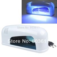 9W Professional Nail Art Gel UV Lamp Light Dryer