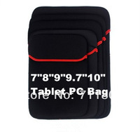 "1pcs Tablets PC eBooks Sleeve Bag/Case for ipad 2/3/4 ipad mini 7""/8""/9""/9.7""/10"" inch Neoprene Material Sleeves Liner Bag Pouch"