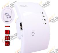 300M Wireless-N Wifi Repeater 802.11N Network Router Range Expander Amplifier 2014