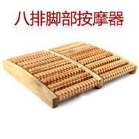 feet care High quality fairload wool foot massage device artifact handmade manual natural massager wooden massage roller