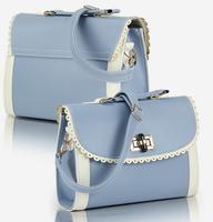 Newest 2014 women's handbag mini messenger bag fresh young girl vintage candy color shoulder bag free shipping