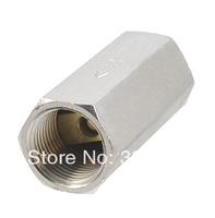"Solid Brass 3/8"" PT Thread Air Gas Water Non-return One Way Check Valve"