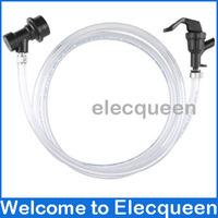 Homebrew Faucet Tubing Kit - Ball Lock Version ,Dispense (beer line + hand faucet + ball lock connector)