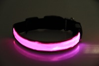 new coming Flash Dog Leashes Night flashing dog pet collar led Leashes 8 colors