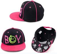 2014 new boy girls baseball cap, children snapback hip hop hats, kids sun casual caps, baby hats,unsex