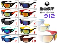 10colors The new foreign trade in Europe and America selling colorful reflective sunglasses sport sunglasses riding S1
