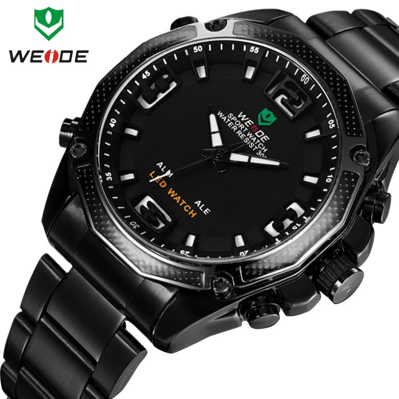 2014 WEIDE Brand New military watch Fashion Men Quartz Wristwatch men sports watches Men's Army Wristwatch 12-month Guarantee(China (Mainland))