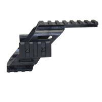 "Universal tactical pistol Scope Sight Laser Flashlight mount  With Quad 7/8"" Weaver & Picatinny Rail"