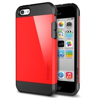 Bule 5c Cover Spigen Tough Armor Case for iphone 5c Hard Plastic & TPU Material Drop Shipping Support THA03327