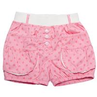 2014 New Summer Girls Hot Shorts Kids Dot Cute Lace Pocket Free Shipping K6352