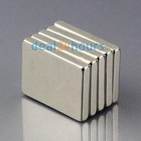 5PCS N50 Bulk Super Strong Block Cuboid Magnets Rare Earth Neodymium 20 x 15 x 3 mm Free Shipping