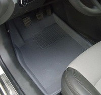 Car foot mat for VW Touran step mat, auto foot mat, free shipping, three colors floor mat
