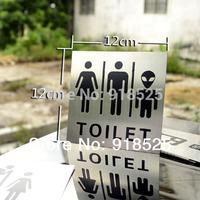 Tablature door plate indicator wc sign