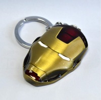 Iron Man Key Chain 2014 movie Metal KeyChain Boy Love Birthday Gift Movie Gift