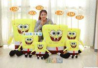 150cm SpongeBob skin plush toys, teddy bears hull Large Animal coat factory wholesale Gifts for women