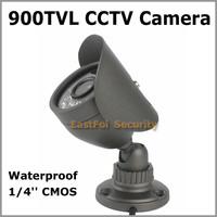 2014 NEW ! Waterproof Mini Bullet CMOS 900TVLine Outdoor/ indoor  Mini Bullet  CCTV  Camera