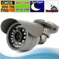 2014 NEW ! Waterproof Mini Bullet CMOS 600TVLine Outdoor/ indoor  Mini Bullet  CCTV  Camera