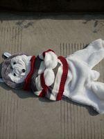 150cm Husky dog skin plush toys, teddy bears hull. Large animal coat factory wholesale