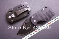 2pcs/lot Boker QQ Black Pig Hunting Folding Mini Pocket knife Tactical 55HRC ,Best gift Free shipping