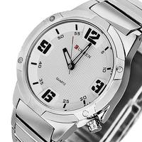 CURREN Branded Watches Steel Quartz Analog Men's Male Clock Men Full Steel Watch Luxury Men Quartz Relojes Sports Watch for Men