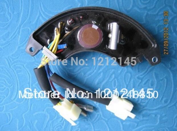 GTDK5 3A6A 5KW Three Phase Generator AVR KIPOR 5KW Three Phase Generator AVR Free Shipping