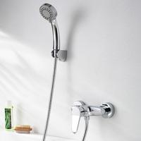 Copper bibcock shower set bathroom faucet shower set