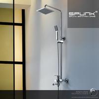 Copper hot and cold bathroom shower set shower faucet capitales function shower set