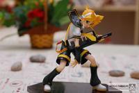 Hot ! Hatsune Miku Kagamine Len 15cm 1/8 Scale Painted PVC Figure New