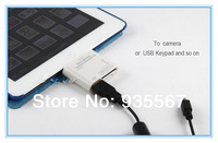 2PCS/Pair Russian High Quality 5 in1 Camera Connection Kit USB Micro SD TF Card Reader Adapter for iPad 4/iPad Mini
