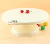 Hot new arrival Light cake turntable cream birthday cake rotating swivel plate diy baking tools
