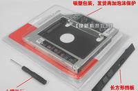 Cheap wholesale notebook optical drive bracket 12.7mm SATA3 SSDs mechanical aluminum hard drive bays 10pcs/lots