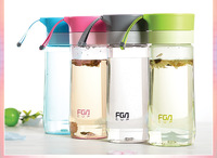 Wholesale Eco-friendly 500ml  lovely outdoor sports water bottle plastic drinking plastic cup water bottle kids