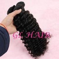 Cheap Malaysian Virgin Hair Weave Grade 6A Deep Wave Hair 4pcs lot 12-30inch Natural Color Free Shipping