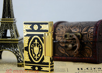STDupont gas lighters broke purchasing genuine classic pattern of copper Movement