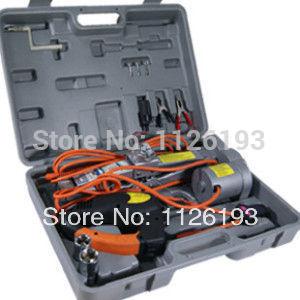 Car jack 3Ton car electric jack electric wrench car toiletry kit(China (Mainland))