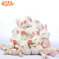 Cartoon animal plush toy long ears rascal rabbit birthday gift