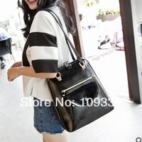 Factory direct wholesale backpack leather 2014 new Korean fashion institute wind tide shoulder bag schoolbag